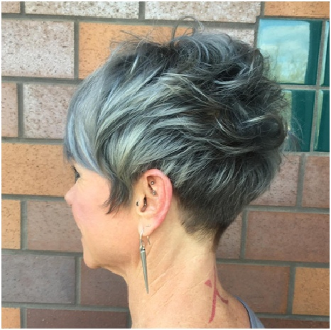 Warm Blonde On Blowout Bob - Cute Short Haircuts for Women Over 60 You Should Rock This Year