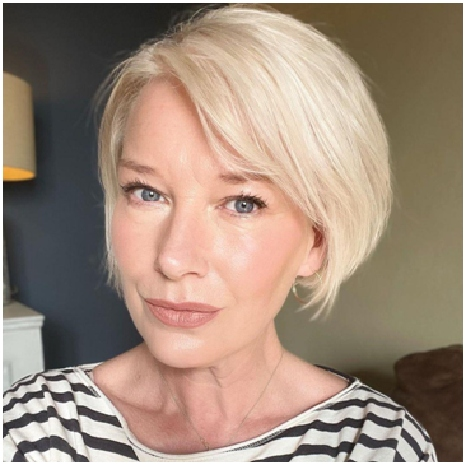 Messy Curls - Cute Short Haircuts for Women Over 60 You Should Rock This Year